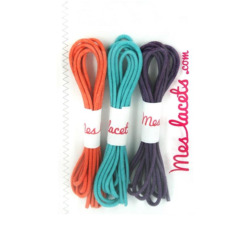 mejor servicio a1f10 1bac9 Compra Cordones redondos y finos algodón naranja caléndula ...