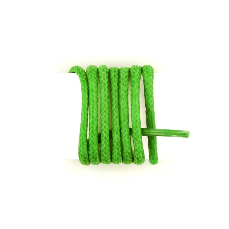 Les lacets Fran?ais?–?Cordones redondos de algodón encerado, color amarillo canario amarillo 40 cm