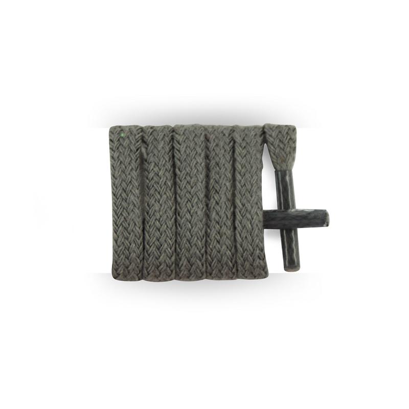 44664fa5 Cordones zapatillas de deporte moda planos algodón longitud 120 cm color  gris fuente ...
